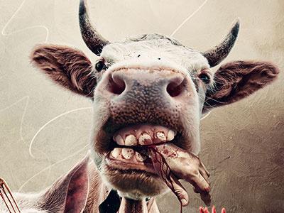 Payback Bill photo manipulation animals farm cover editorial