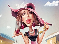 Wine fashionista
