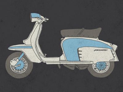 lambretta special vector illustration scooter classic lambretta special tshirt
