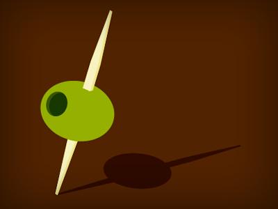 olive illustration vector