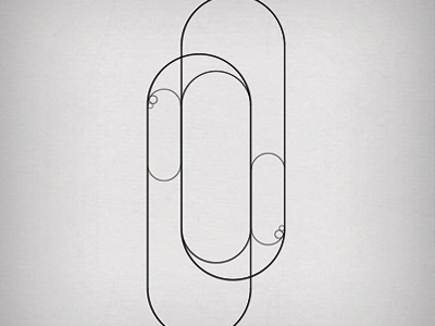type design: 1st step modular typography experiment vector