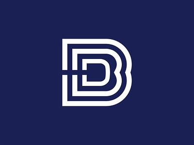 Digital Blue Beagle icon blue illustrator design graphic branding logo