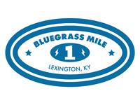 Bluegrass Mile Sticker