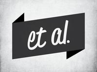 Et Al. Personal Logo exploration