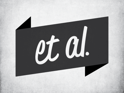 Et Al. Personal Logo exploration logo exploration
