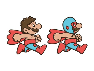 Super Nacho Bros nacho nintendo snes nes luchador mario super mario nacho libre