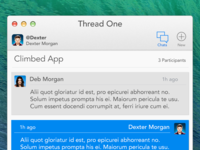 ThreadOne os x mac chat