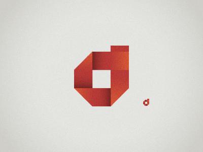 """d"" logo symbol"