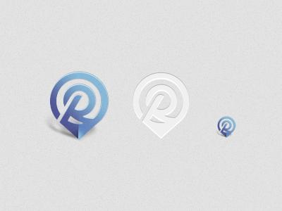R.me  logo blue pin r