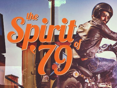 The Sprit of '79 (Vintage) classic vintage apparel motorcycle