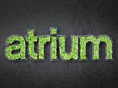 Atrium (Teaser Campaign) teaser promo photoshop