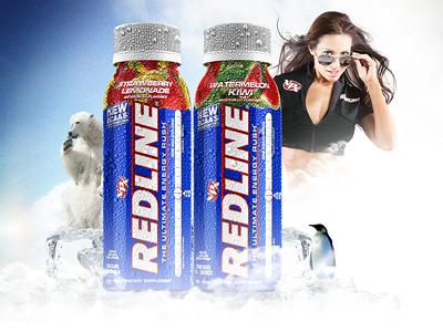 Redline Ad (Concept) e-commerce photoshop ad branding sports