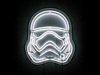 First Order Stormtrooper Neon
