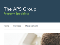The APS Group Header and Breadcrumb