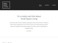Small Space Living Website
