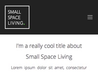 Small Space Living Mobile