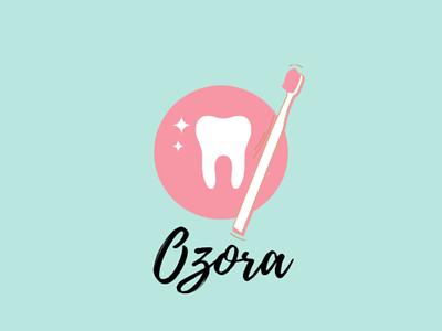 Ozora Toothbrush Co. Logo vector logo illustration icon design branding