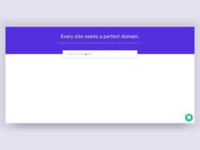 Format - Domain Search Details details ux format app product interface clean ui