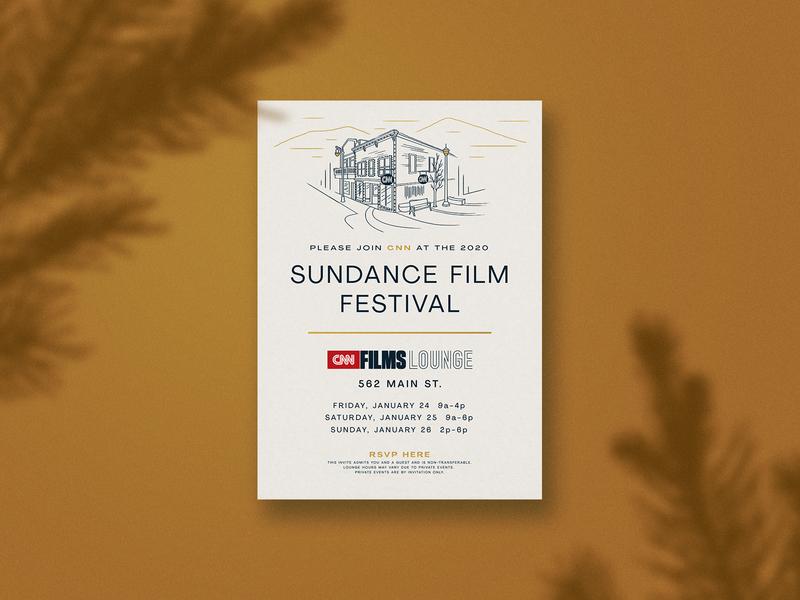 CNN Films Sundance 2020 Invite