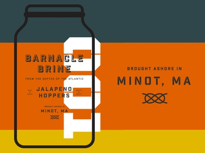 Barnacle Brine Packaging