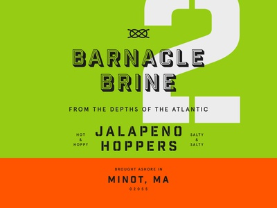 Barnacle Brine - Label