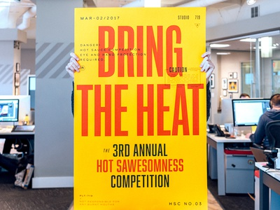 Bring the Heat Poster