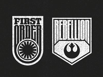 The Force Awakens Badges licensing apparel merchandise badge episode 7 the force awakens star wars