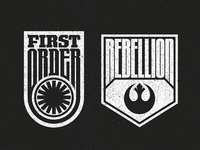 The Force Awakens Badges