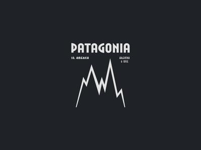 Monday Type Challenge: Patagonia