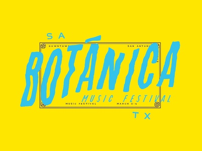 Botánica - Unused Design Direction