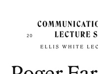 Communications Media Lecture Series