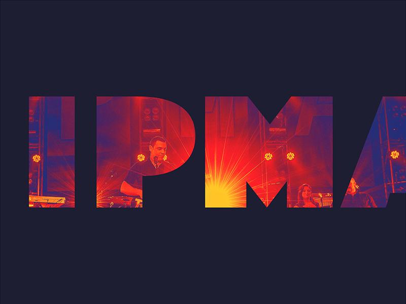 IPMA 2018 logo wordmark branding fall river portuguese music awards ipma