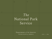 BSDS Challenge No. 4: National Parks + Crimson Text