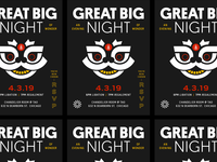 Great Big Night Invitation