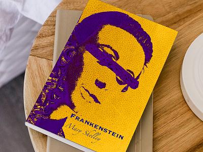 Frankenstein Book Design vector print typography illustration