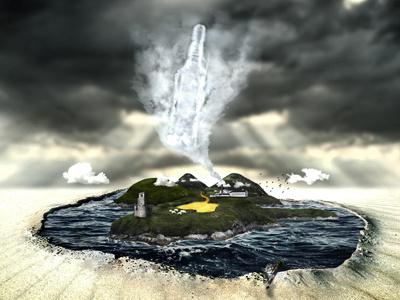 Island of islay illustration islay whiskey island photoshop lagavulin