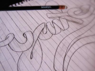 sketch sketch typography illustration type