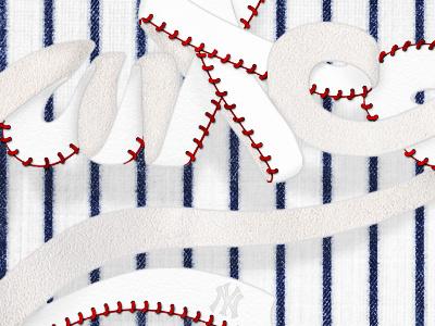 New York Yankees typography illustration yankees new york wallpaper baseball