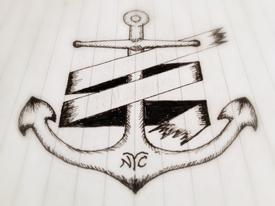 Anchor Sketch sketch illustration drawing anchor tattoo style shading sneakpeak