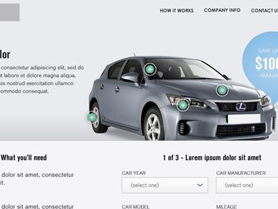 Webdesign concept2 webdesign header hotspots minimalistic concept design