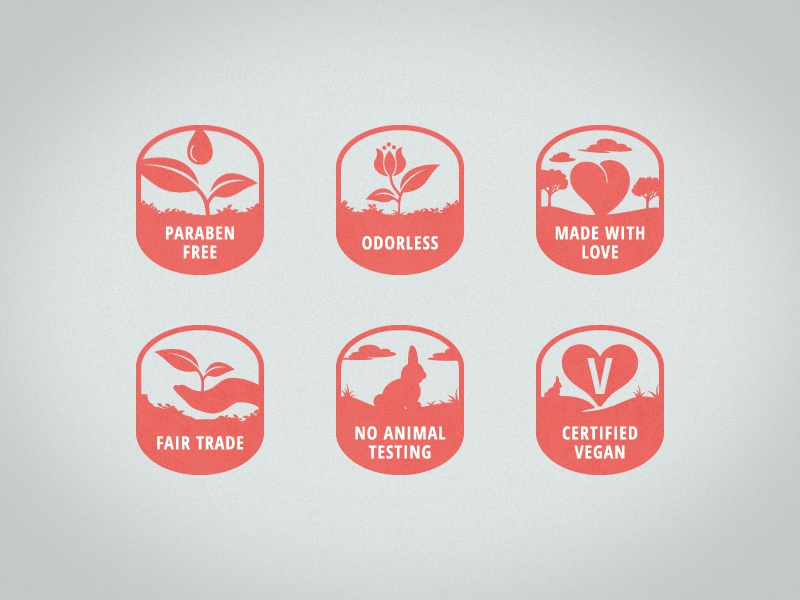 Product Icons icons vegan product andreas knutsson symbols tags