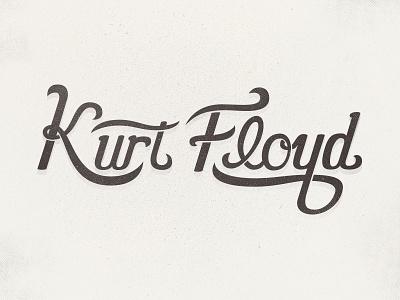 Personal Logo lettering handwritten vector logo type typography