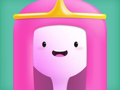 Princess Bubblegum princess bubblegum adventuretime bubblegum illustration princess adventure dog adventure time