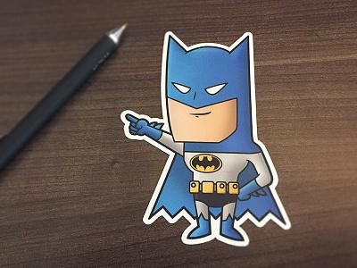 Batman Sticker batman sticker justice dc the dark knight