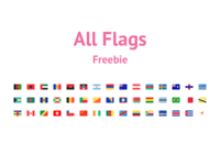 All Flags Freebie – Flag Kit