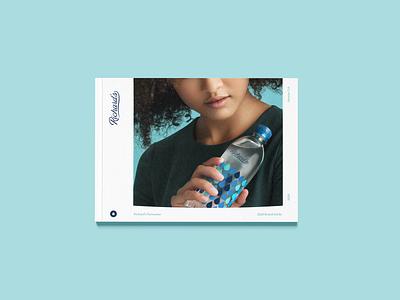 Richard's Brand Book rain branding concept branding design design photography branding agency water handosme branding
