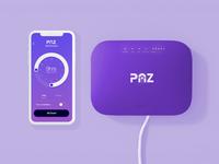 Companion App Design Guidelines kids children mobile purple industrial design hardware ui app router handsome
