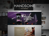 Handsome Marketing Site Cont