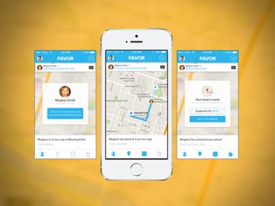 Favor IOS 7 Mobile App
