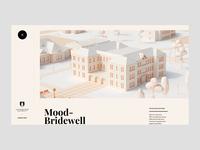 Southwestern University Mood-Bridewall Hall web design 3d marketing site university